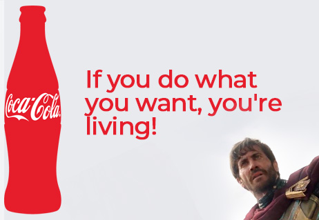 Coca cola motivation